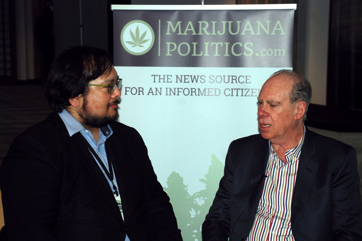 Great to sit down with Ed Rosenthal, who never minces words. Interview will be posted soon. He had just given a fiery speech about freedom and passed around a hat earning a few thousand dollars in contributions for California legalization efforts.