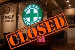 Medical marijuana closed