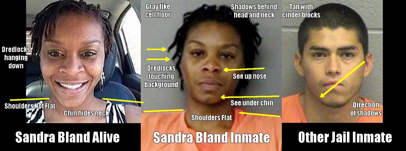 Sandra Bland Mugshot