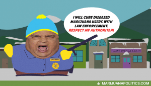 Chris Christie Cartman Cop