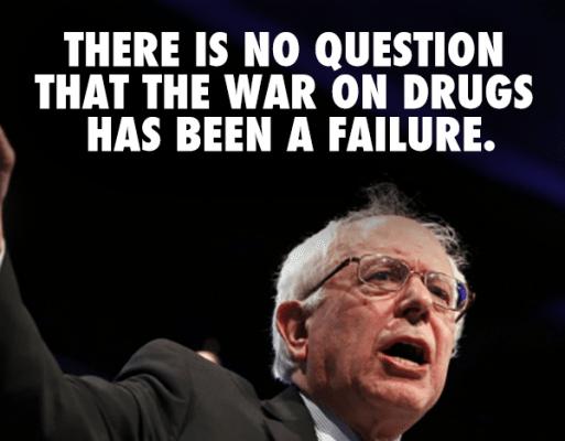 Bernie Sanders War on Drugs
