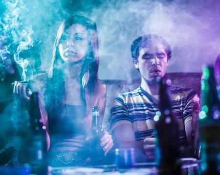 Marijuana Smoke