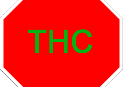 Stop Sign THC