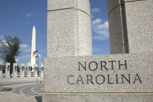 World War II Memorial NC