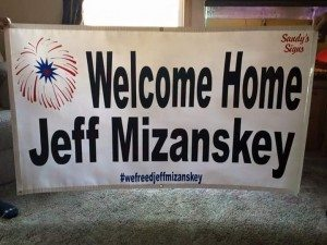 Welcome Home Jeff Mizanskey