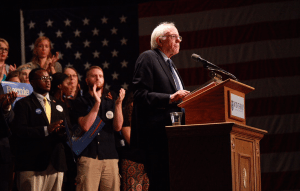 Bernie Sanders in South Carolina.