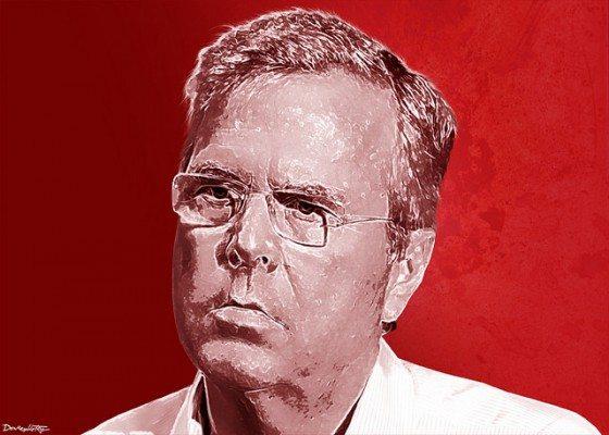 Jeb Bush DonkeyHotey