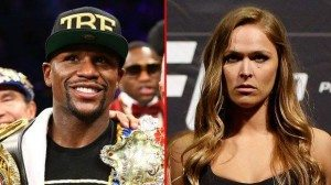 Floyd Mayweather and Ronda Rousey