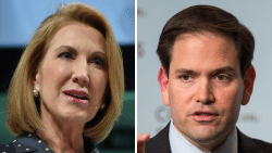 Carly Fiorina and Marco Rubio
