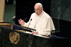 Pope Francis at the UN