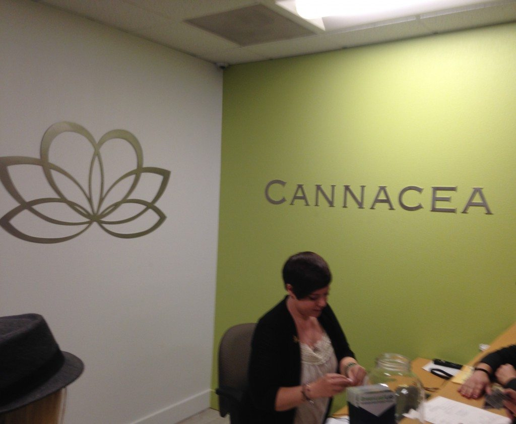 Check-in at Cannacea
