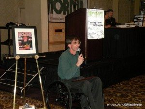 Richard Lee at the 2009 NORML Conference (I'm up on the podium)