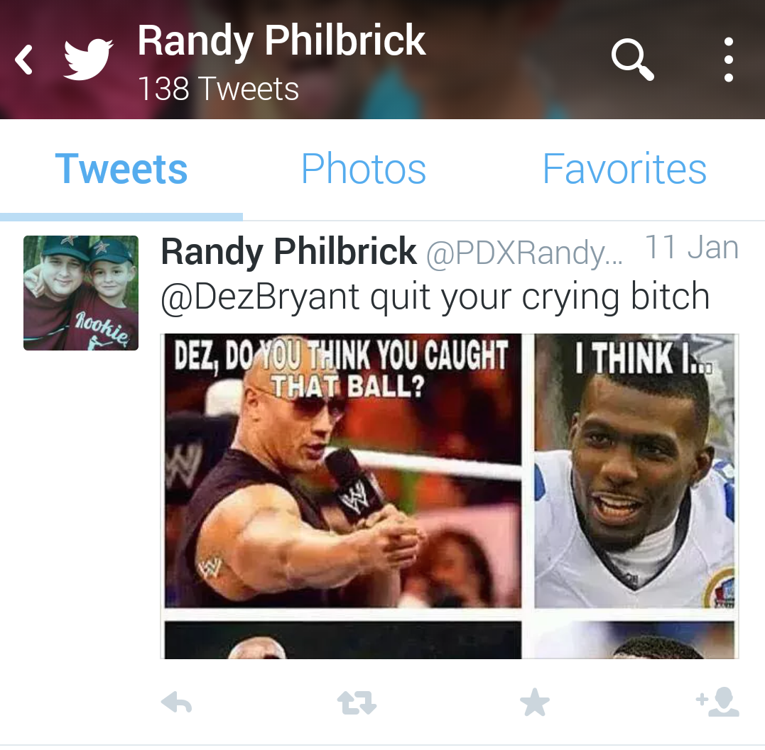 Randy Philbrick Dez Bryant