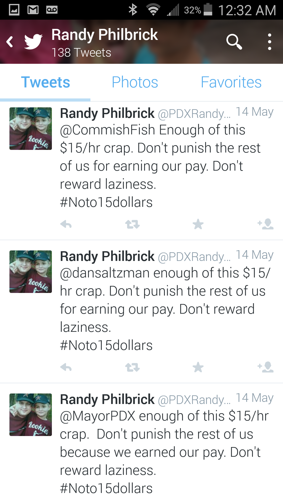 Randy Philbrick Lazy
