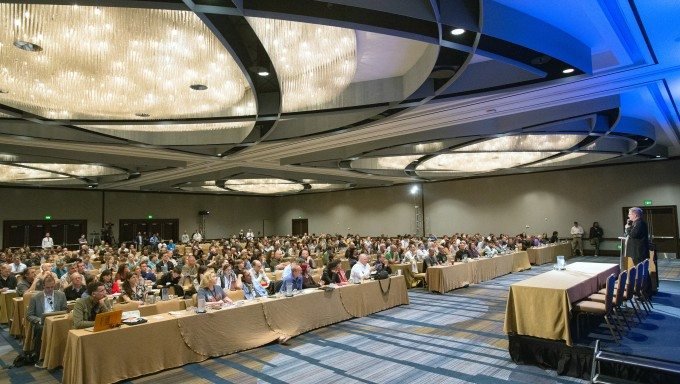 Rick Steves at the ICBC in SF in 2015