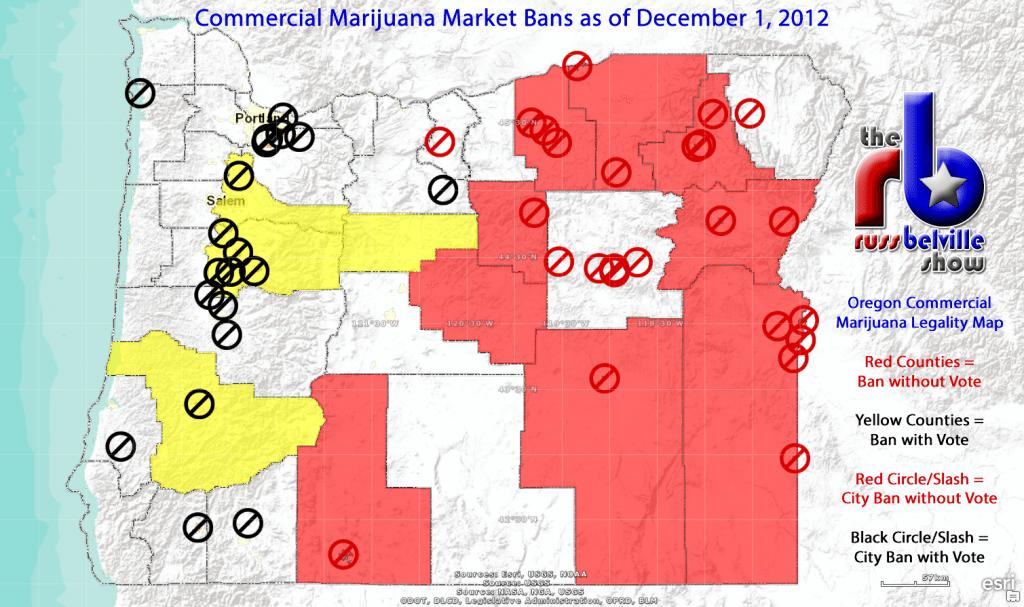 Oregon Marijuana Market Legality 2015-12