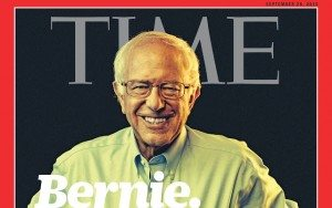 Bernie Sanders on Cover of Time