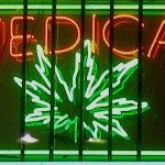 medical marijuana sign california
