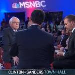 MSNBC Democratic Town Hall Bernie Sanders