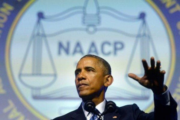 President Obama NAACP
