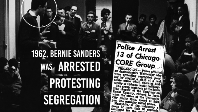 Bernie Sanders Civil Rights