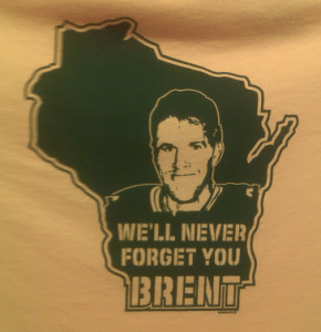 We'll never forget Packer's legend Brent Favrey!