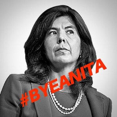 #ByeAnita