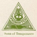 Prohibition Sons of Temperance