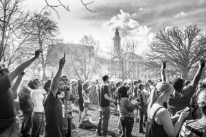 Denver 420 Rally Fara Paige BW