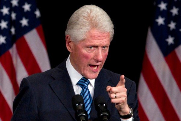 Bill Clinton Mad