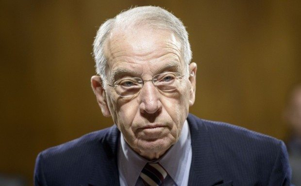 "Chuck Grassley believes that ""good people don't smoke marijuana."" Photo by Brendan Smialowski/AFP/Getty Images"