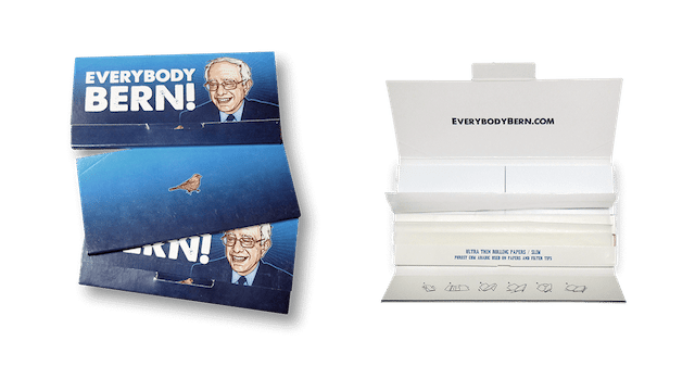 Everybody Bern! Bernie Sanders Rolling Papers