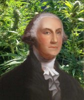 George Washington and hemp plastic