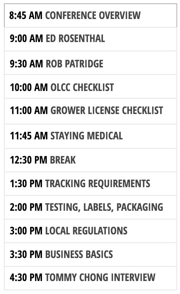 OMBC Ashland Schedule