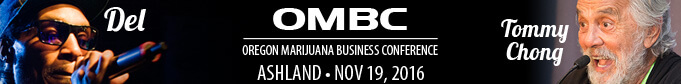 DEl and Tommy Chong at the OMBC November 19 2016