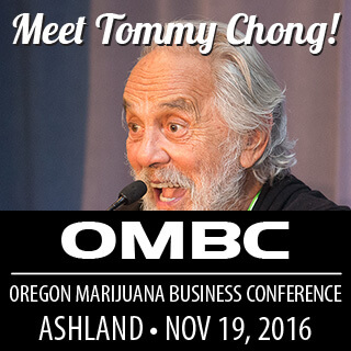 Tommy Chong at OMBC Ashland OR 11-1`9-2016