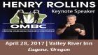 Henry Rollins OMBC