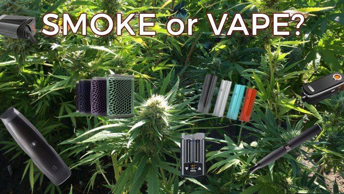 Smoke or Vape? The Benefits of Vaporizing Weed Over Smoking It