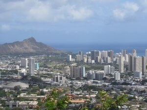 Diamond Head beach Hawaii