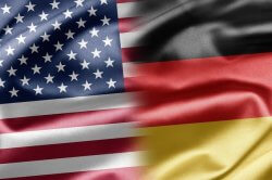 German-US-flags