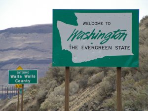 Washington State Sign