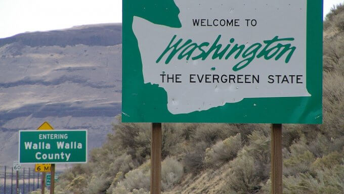 Washington State Sign